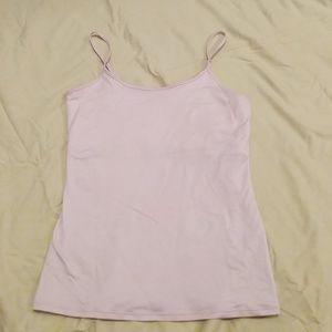 White House Black Market shelf bra camisole